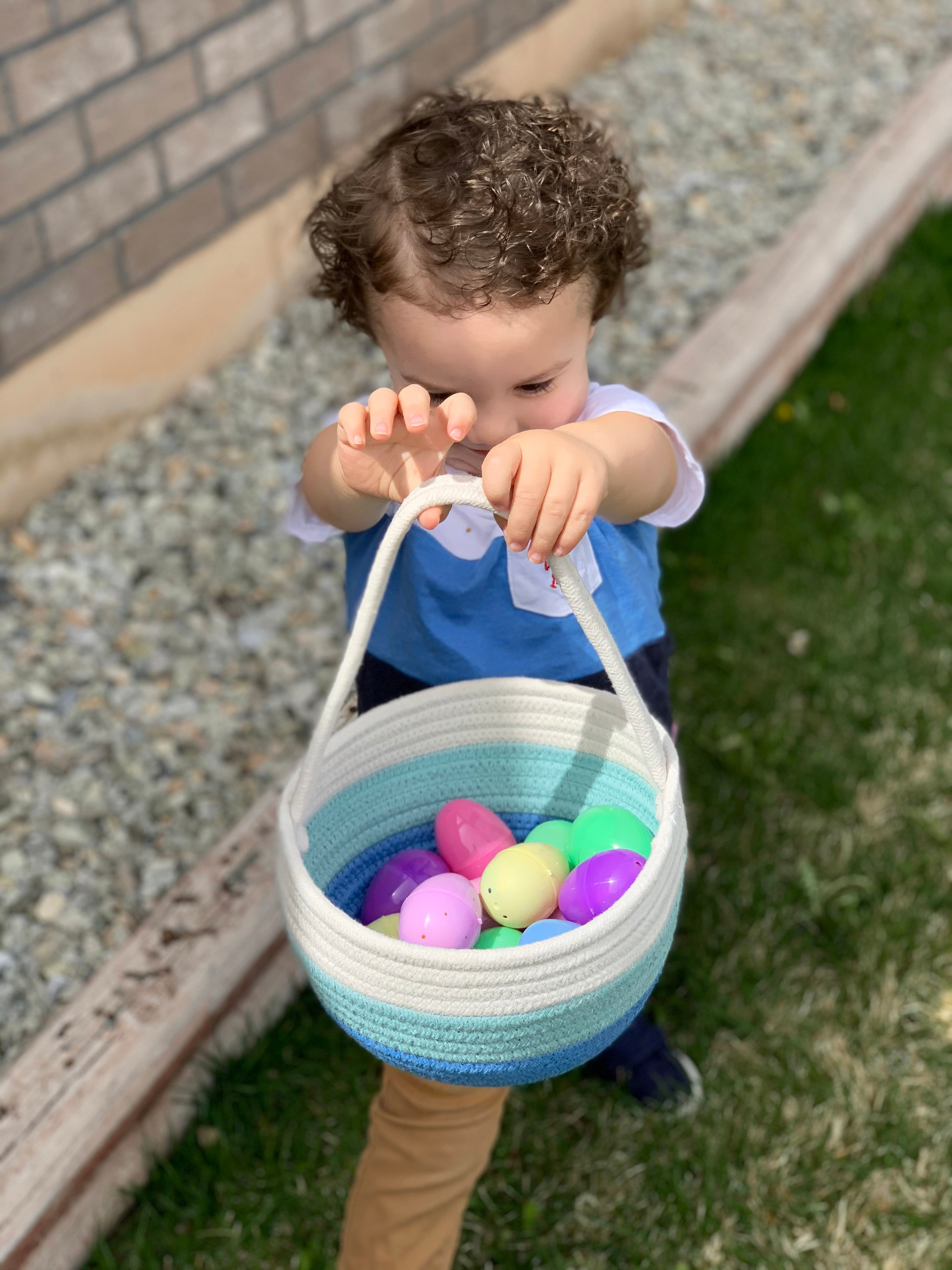 Easter Celebration at Home + Secret Basket Project a joyful service project and ideas for a creating a simple Easter celebration with your family this year! by cookingwithruthie.com