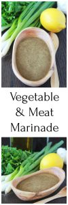Vegetable & Meat Marinade Recipe for all of your summer grilling recipes! by cookingwithruthie.com