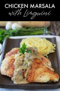 Chicken Marsala Small