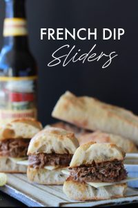 French Dip Sliders Small