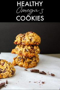 Healthy Omega 3 Cookies Small