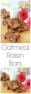 Our Oatmeal Raisin Bars Recipe are a long-time family favorite. . . I adored them growing up and I passed the love onto my kiddos! by cookingwithruthie.com