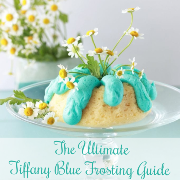 The Ultimate Tiffany Blue Frosting Guide is filled with decadent inspiration for your inner baker to be inspired! by cookingwithruthie.com