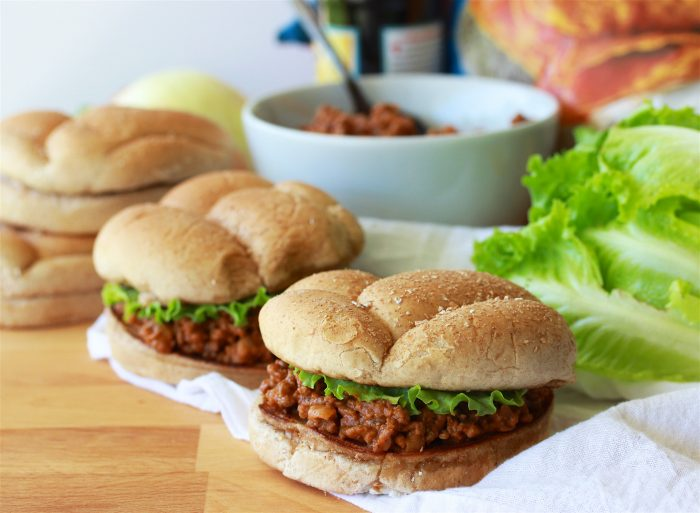 Slow Cooker Sloppy Joes Recipe is a long time family favorite filled with savory deliciousness in every bite! by cookingwithruthie.com