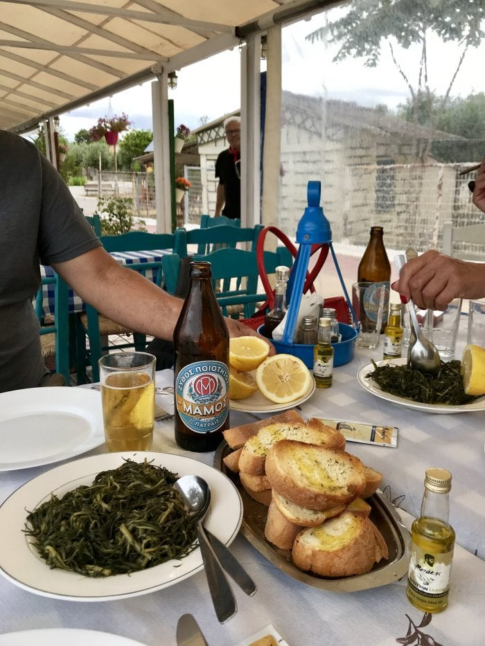 Seaside restaurant in Delisi, Greece