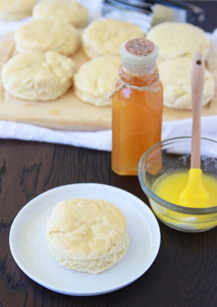 """Perfect Flaky Biscuits Recipe will soon become your famous """"secret"""" biscuit recipe! by cookingwithruthie.com"""