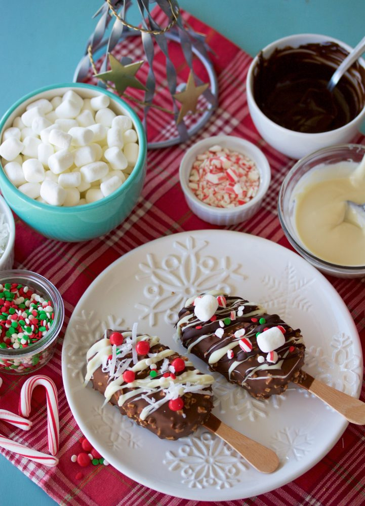 OurHoliday Dream Bars Recipe is a fun holiday activity for the whole family! by cookingwithruthie.com