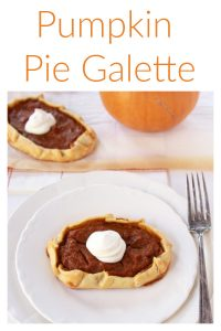 Pumpkin Pie Galette Recipe are all those amazing flavors that taste like a traditional pumpkin pie but with a whole lot less effort! by cookingwithruthie.com