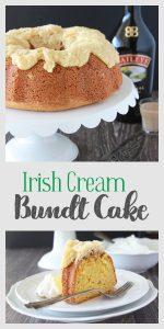 Irish Cream Bundt Cake Pin