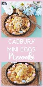 Cadbury Mini Eggs Pizzooki