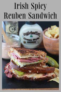 Irish Spicy Reuben Sandwich 1