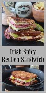 Irish Spicy Reuben Sandwich